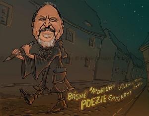 Jiří Žáček slabikar Karel Urban